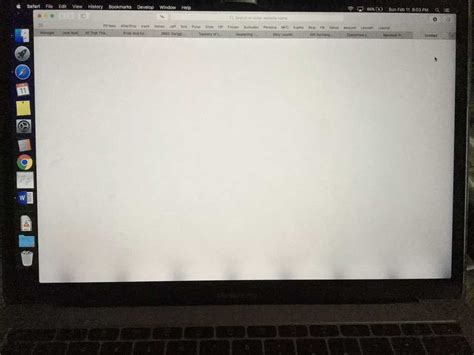MacBook Pro Backlight Display Issues Causing Problems for