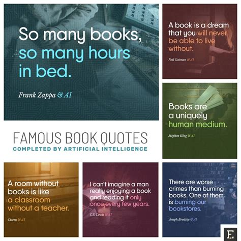 Famous book quotes completed by artificial intelligence