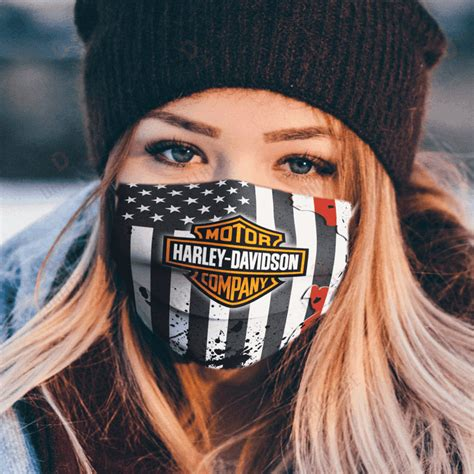 America Flag Fabric Face Mask - Make in the USA