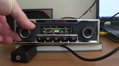 Becker Europa with cable MP3 - YouTube