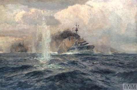 HMS Lion at the Dogger Bank Action, 1915   Imperial War