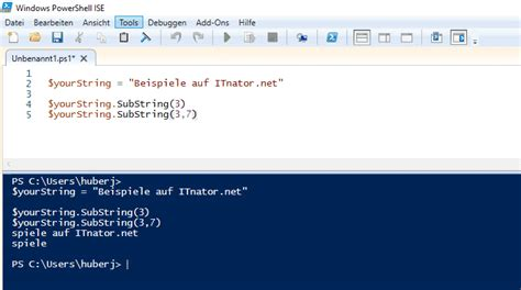 String in PowerShell (Trim, Substring, Contains, etc