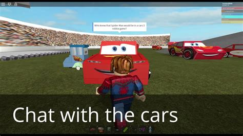 Race Lightning Mcqueen In Roblox Cars 3 Movie - New Robux
