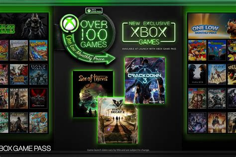 Xbox Game Pass will feature Xbox exclusives on the day
