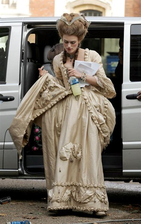 More Pics of Keira Knightley on The Duchess Set