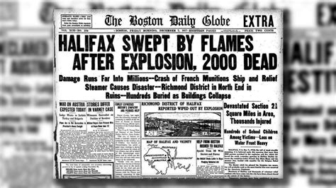 W5 Gallery: 100th anniversary of the Halifax Explosion