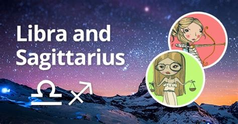 Libra and Sagittarius: Compatibility and Relationship (Two
