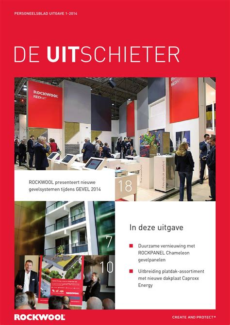 ROCKWOOL - Uitschieter 1-2014 by Creation Station B