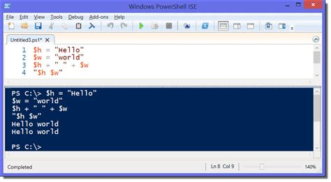 Strings in PowerShell – Replace, compare, concatenate