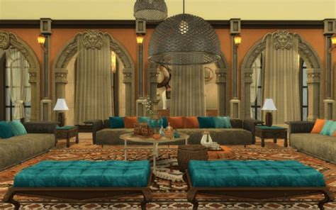 Rabiere Immo Sims: Palais Morocco • Sims 4 Downloads