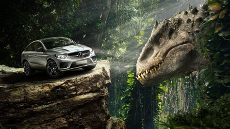 Mercedes Benz GLE Coupe Jurassic World Wallpapers | HD